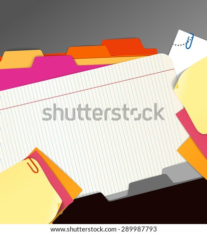 Background of paper stuff. Raster version - stock photo
