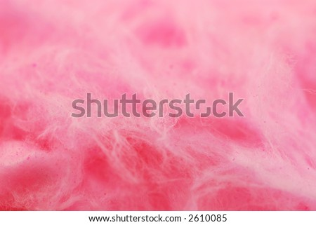 Background of pink cotton candy close up - stock photo