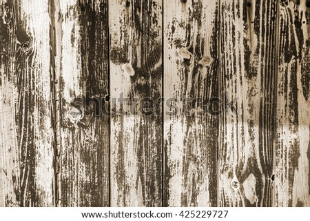 background of shabby painted wooden plank  - stock photo