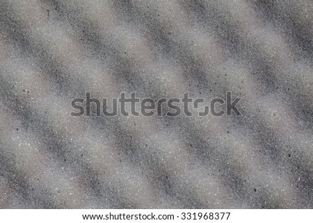 Background of sound absorbing sponge in music studio  - stock photo