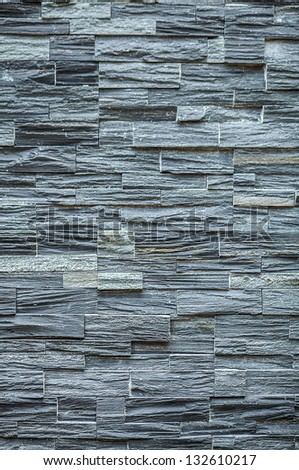 Background of stone wall texture. - stock photo