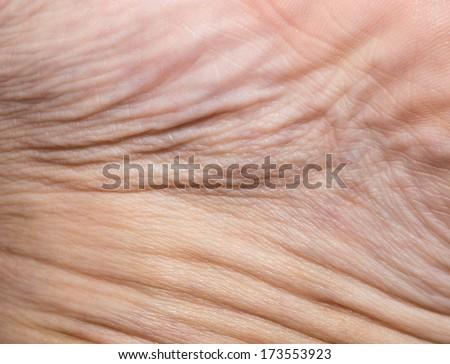 Background of the human skin. macro - stock photo