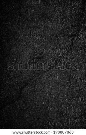 Background of the old walls with dark gray shades. - stock photo