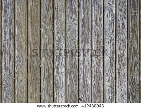 Background of wooden slats - stock photo