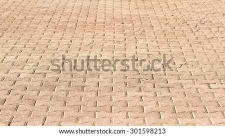 background old paving streets - stock photo