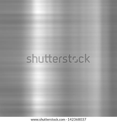 Background or texture of dark aluminium plate - stock photo