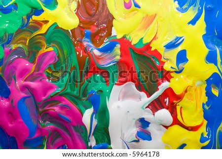 background panting multi color texture - stock photo