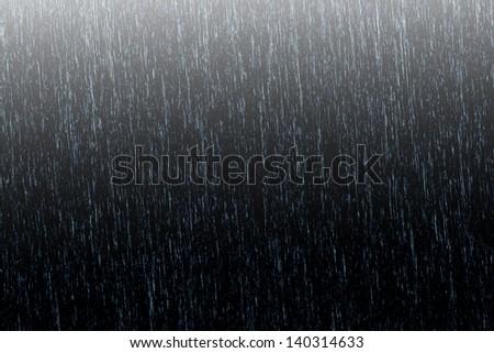 Background rain - stock photo