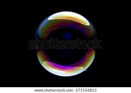 background soap bubble   - stock photo