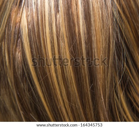 Background Streaked Hair Stock Photo