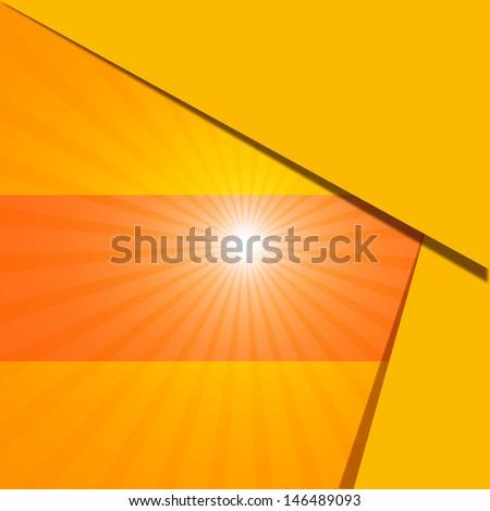 background sun - stock photo