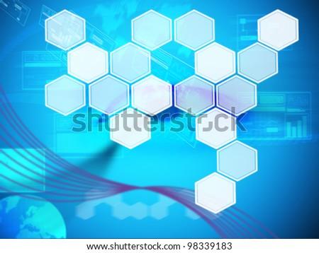 background technology - stock photo