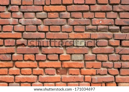 Background texture of a brick wall - stock photo