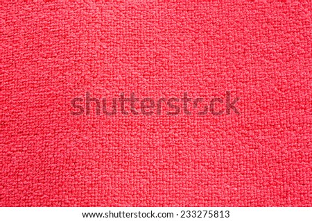 Background texture of a red carpet. - stock photo