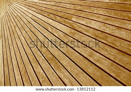 background texture of diagonal wooden boards floor - stock photo