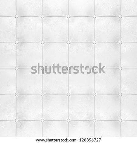 background white leather craft - stock photo