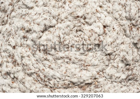 background with bale of cotton  - stock photo