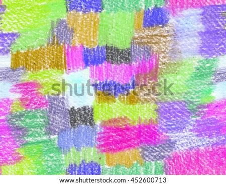 Background with colorful brushstrokes. Abstract pattern - stock photo