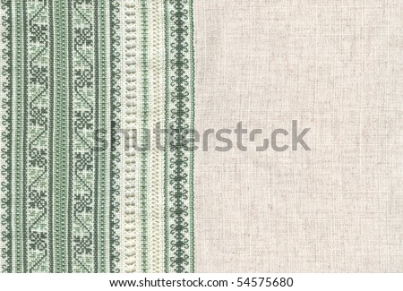 background with embroidery, cross-stitch, grid - stock photo