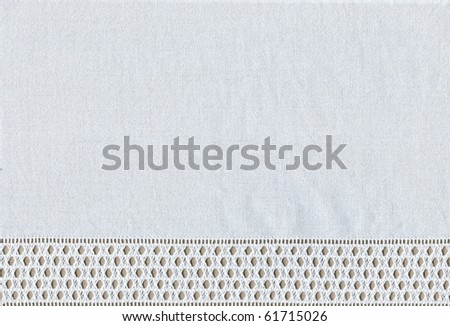 background with embroidery, grid - stock photo