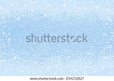 Background with frozen glass - stock photo