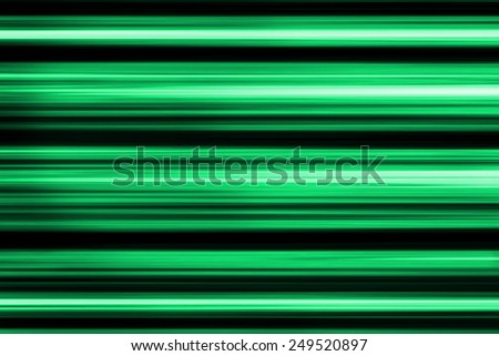 Background with green and black abstract glowing lines. - stock photo