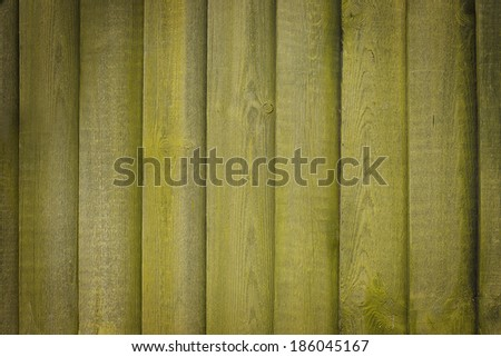 background with green old moldy decks - stock photo