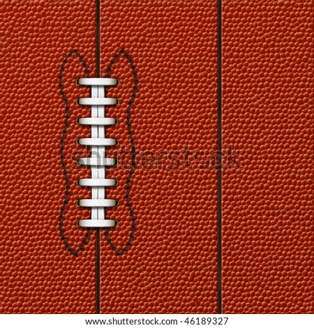 Background with highly detailed texture of American Football. - stock photo