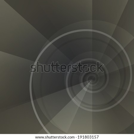 Background with spiral vortex of abstract geometric shapes. for  web, brochures, presentations, explanations, flyers,   internet, magazine, padded, blank, advertisements.  raster version - stock photo
