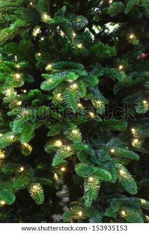 Background with the image of xmas tree - stock photo