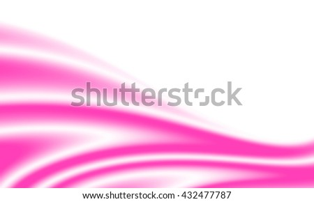 Background with waves of soft pink silk. With copy-space. - stock photo