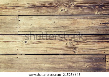 background, wood, wallpaper and texture concept - close up of wooden floor or wall background - stock photo