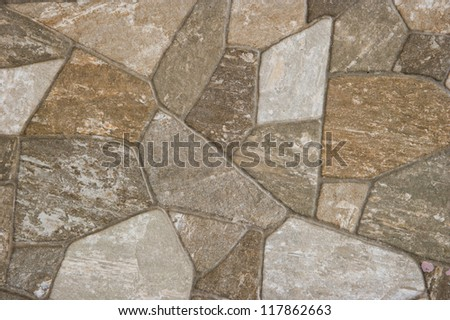 backgrounds of stone wall - stock photo