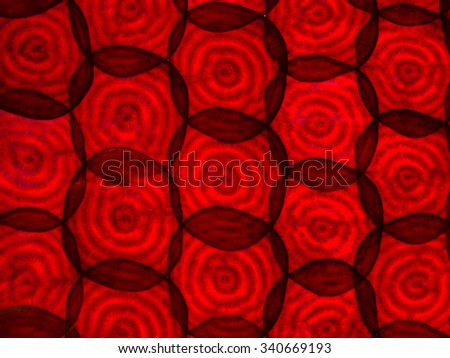 backlit illuminated texture beetroot - stock photo