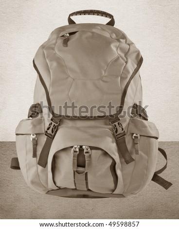 Backpack - stock photo