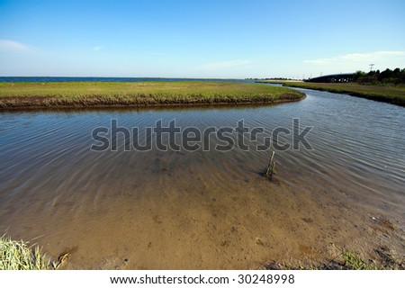 Backwaters - stock photo
