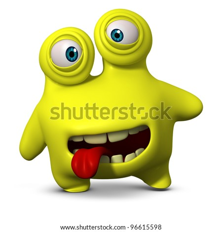 bacterium - stock photo