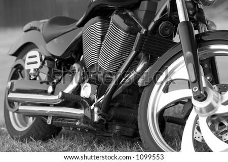 Bad Ass Bike - stock photo