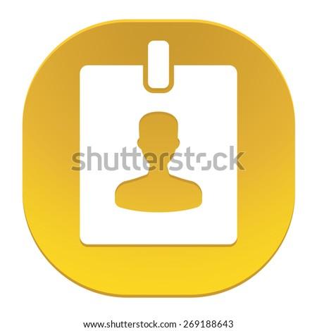Badge icon - stock photo