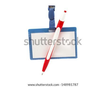 badge isolated on a white background - stock photo