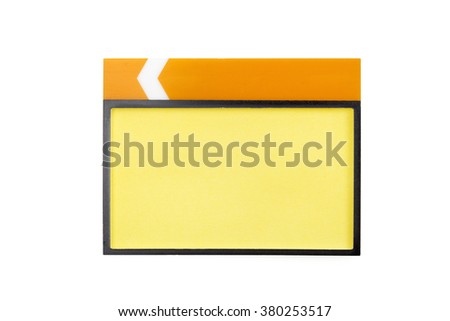 badge on the white background - stock photo