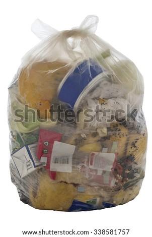 Bag of Garbage - stock photo