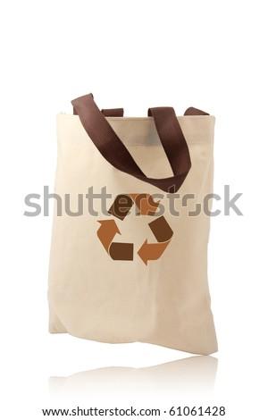 bag recycle - stock photo