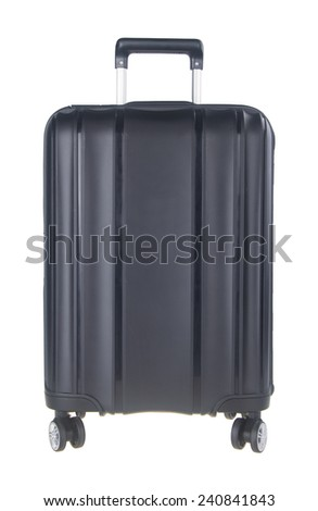 bag. travel bag. travel bag on a background - stock photo
