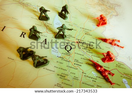 Baghdad - stock photo