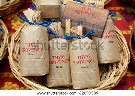 Bags of Thyme - stock photo
