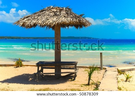 Bahamas vacations - stock photo
