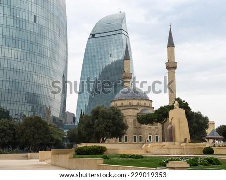 Baku - stock photo