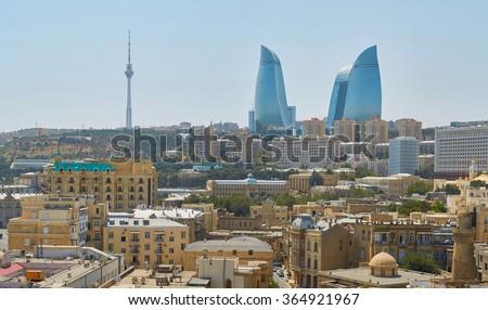 Baku, Azerbaijan - stock photo