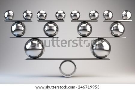 Balance - stock photo